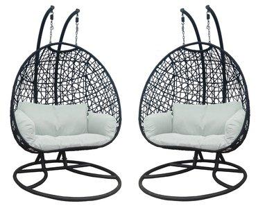 Hangstoel Voor 2 Personen.Hangstoel Voor In En Outdoor Vw Hs 31 Kw Vips Wellness